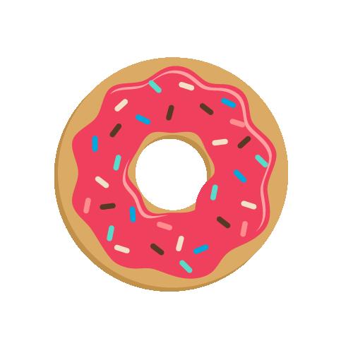 clip library stock Doughnut Cartoon