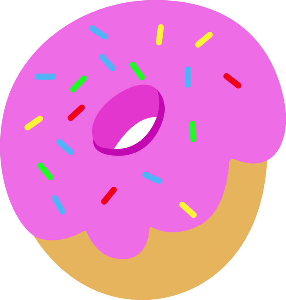 graphic freeuse library Vector donut simple.  absurd res ai