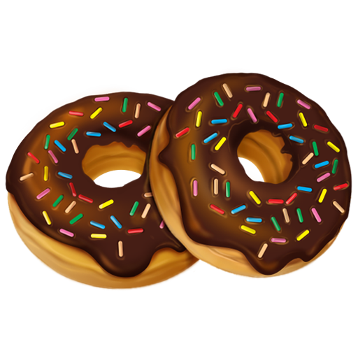 picture vector donut glazed #107745441