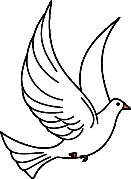 vector freeuse Doves clipart. Holy spirit dove panda.