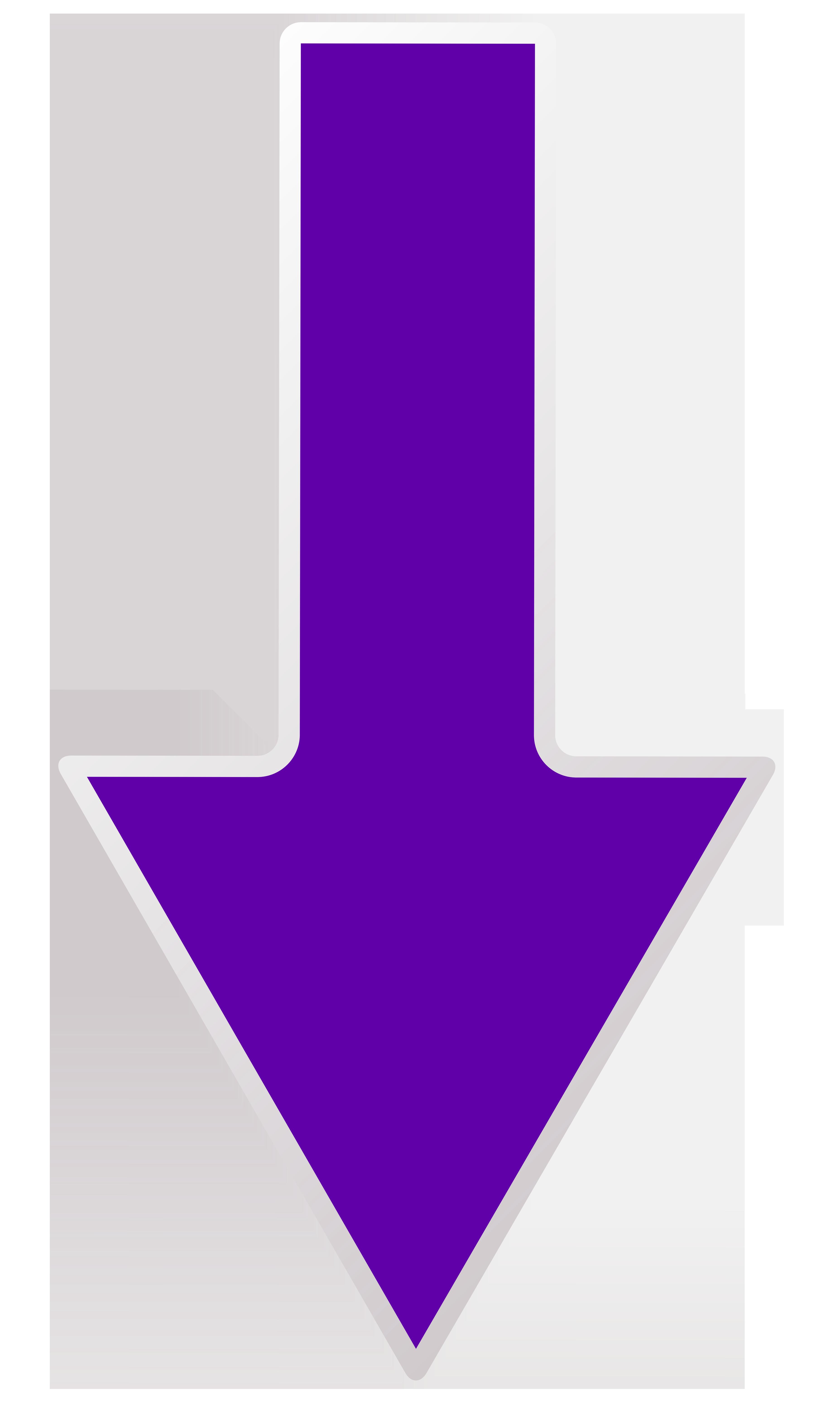 clip art freeuse stock Purple transparent png clip. Down arrow clipart