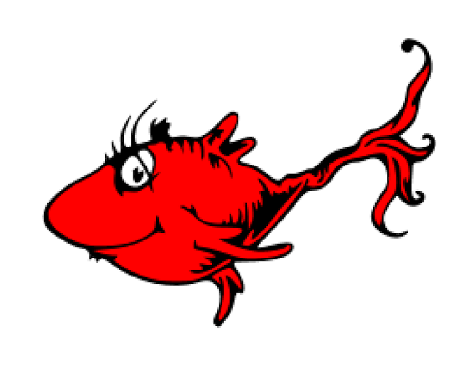 image royalty free download Dr seuss clipart red fish. Pin on cutters