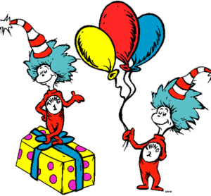 graphic library library Dr Seuss Thing