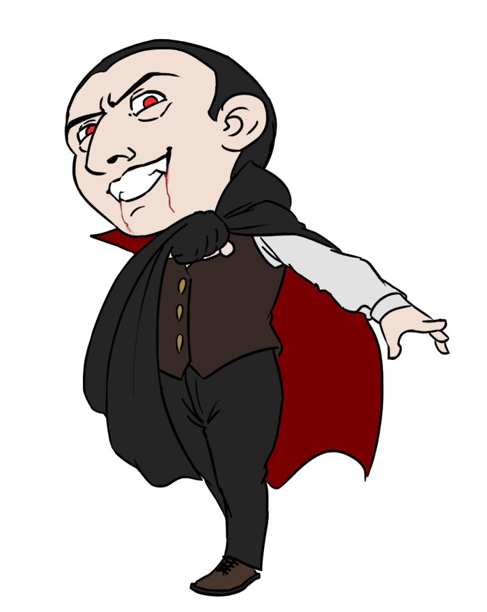 jpg library download Free cliparts download clip. Dracula clipart.
