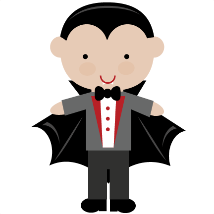 vector transparent library  cents cute svg. Vampire clipart for kids