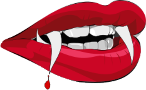 clipart library download Fangs drawing at getdrawings. Vampire transparent tumblr