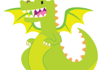 clip art stock Free who wants a. Dragon clipart.