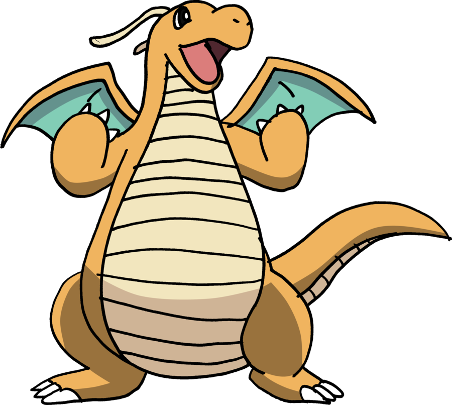 picture royalty free library  by tails on. Dragonite transparent.