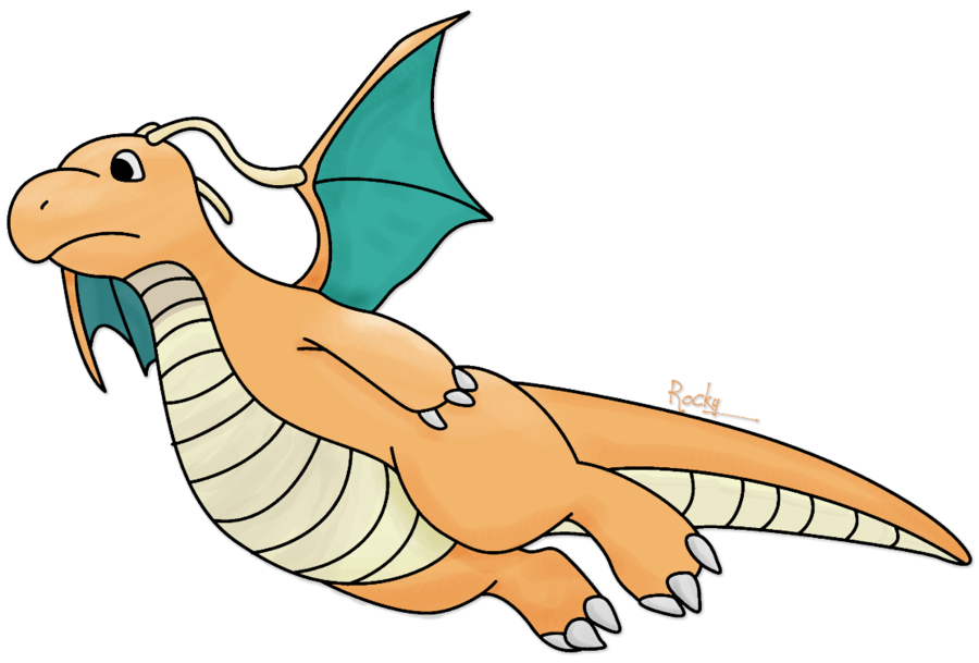 graphic black and white download Dragonite transparent. By rockystuffe on deviantart.