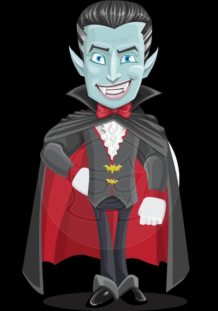 png download Vampire lord character fangs. Drake vector.