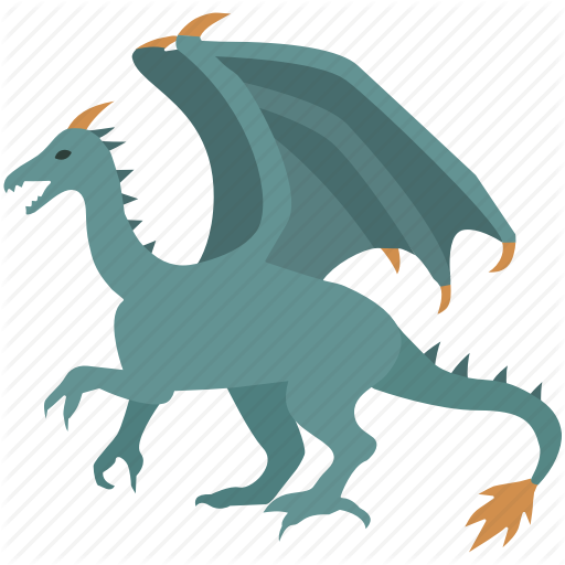 clip art freeuse download Drake vector illustrator. Mythical creatures color by.