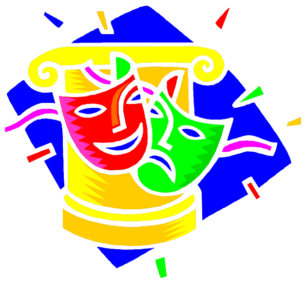 svg freeuse library Drama class . Theatre clipart kindergarten