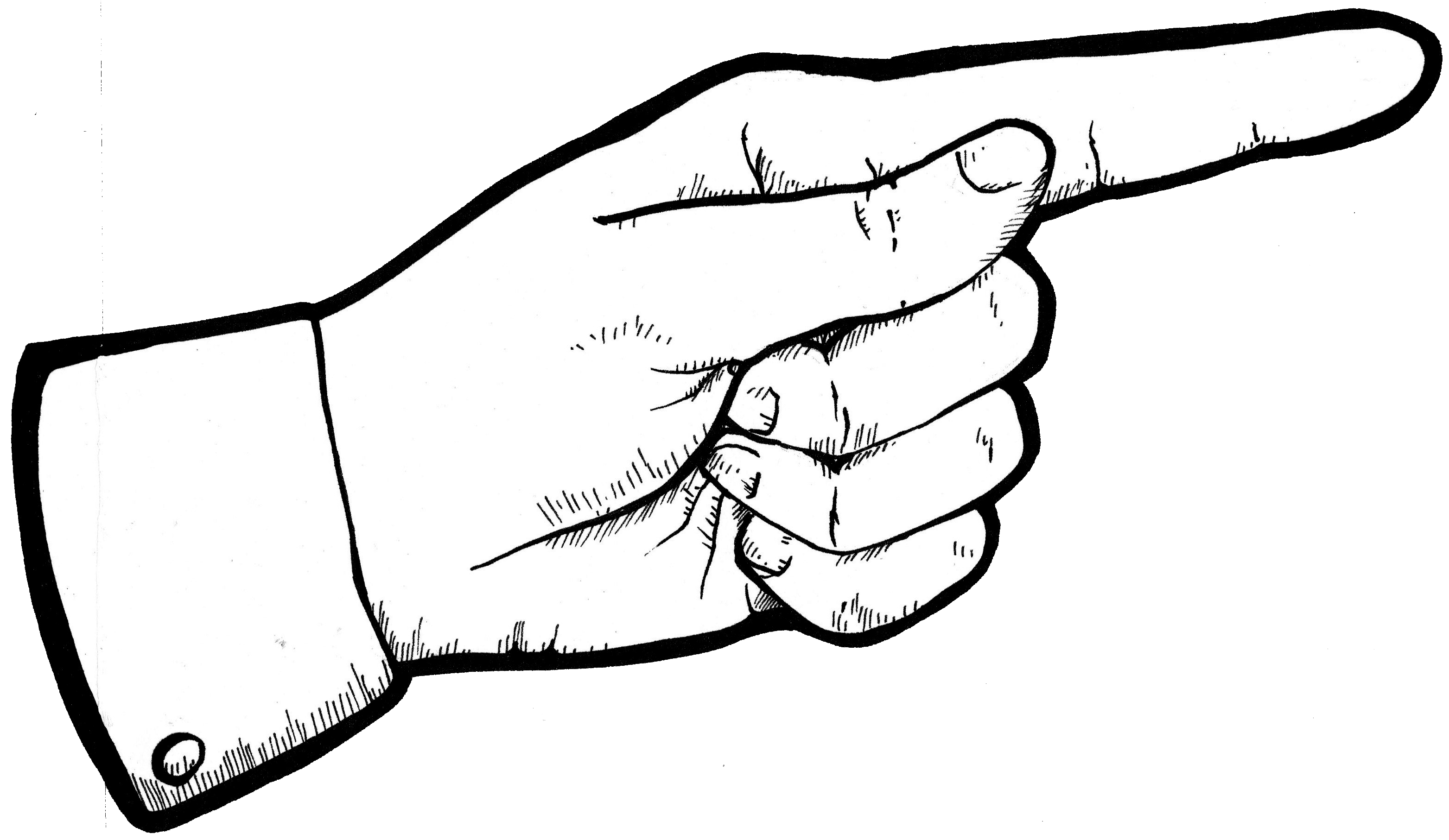 vector library library Pointing Finger Drawing at GetDrawings