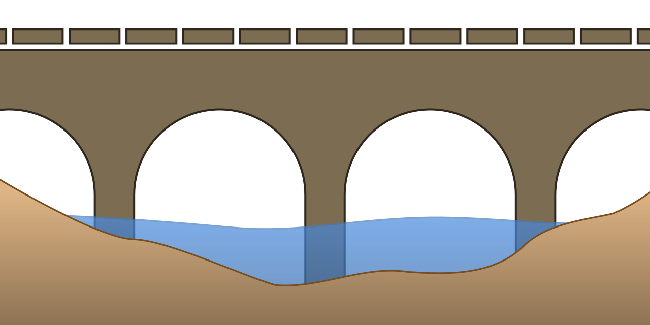 jpg library tunnel drawing bridge #107149428
