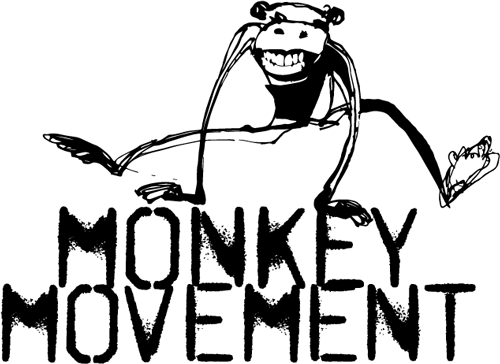 banner library library Monkey Movement