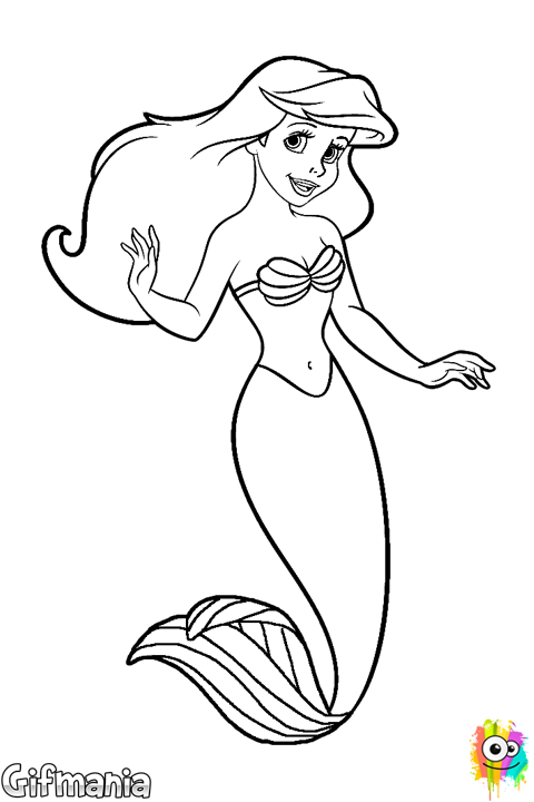 svg black and white download Littlemermaid ariel disney movie. Ursula drawing easy