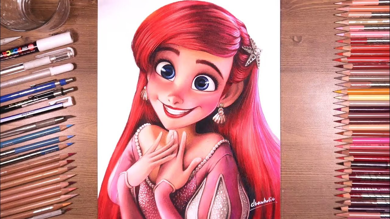 clip transparent Drawing ariel. Princess the little mermaid