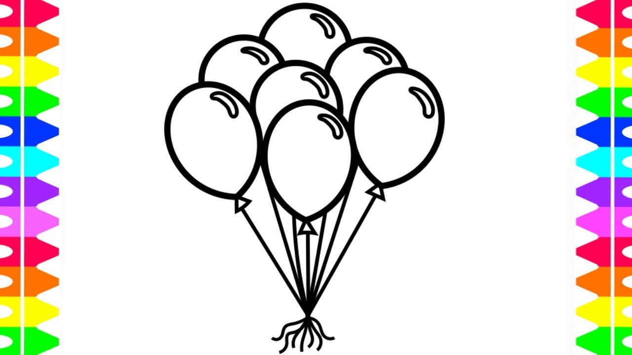 image library stock Learn how to draw. Drawing balloon.
