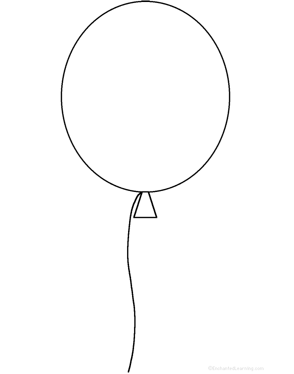 svg freeuse library Drawing balloon. Free download clip art.