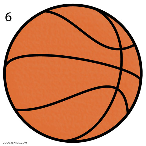 banner free stock How to Draw a Basketball