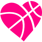 black and white download drawing basketball heart #93620884