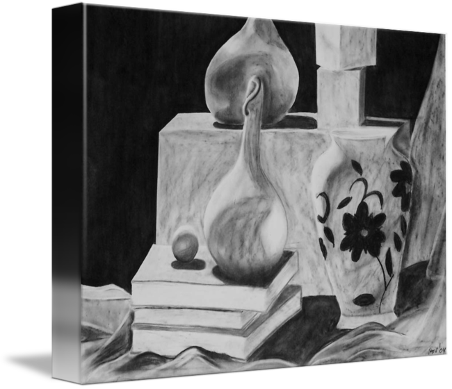 clipart royalty free library Drawing charcoal still life. Collection of free download
