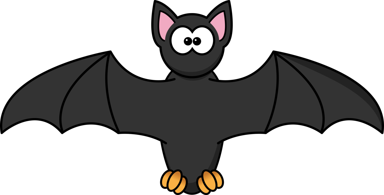 vector black and white download Bat Cartoon Drawing Download Animation free commercial clipart