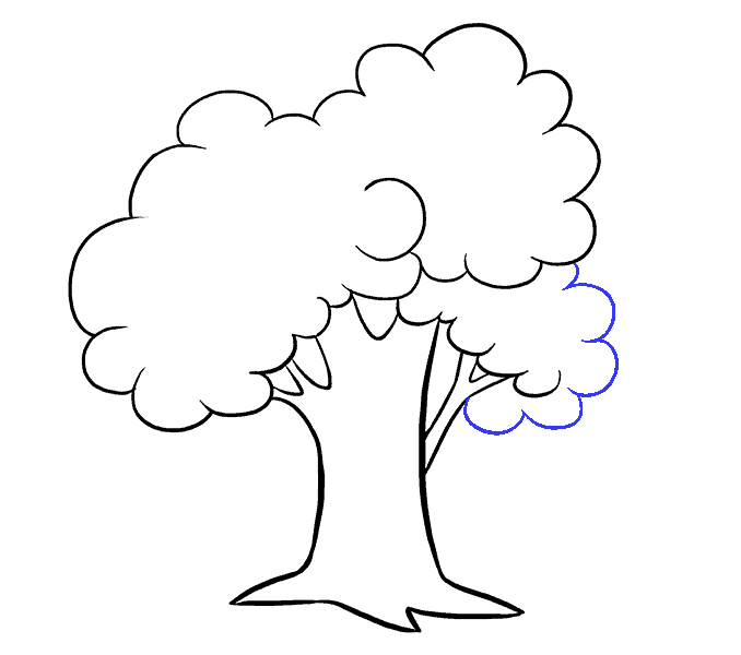 clip royalty free How to Draw a Cartoon Tree