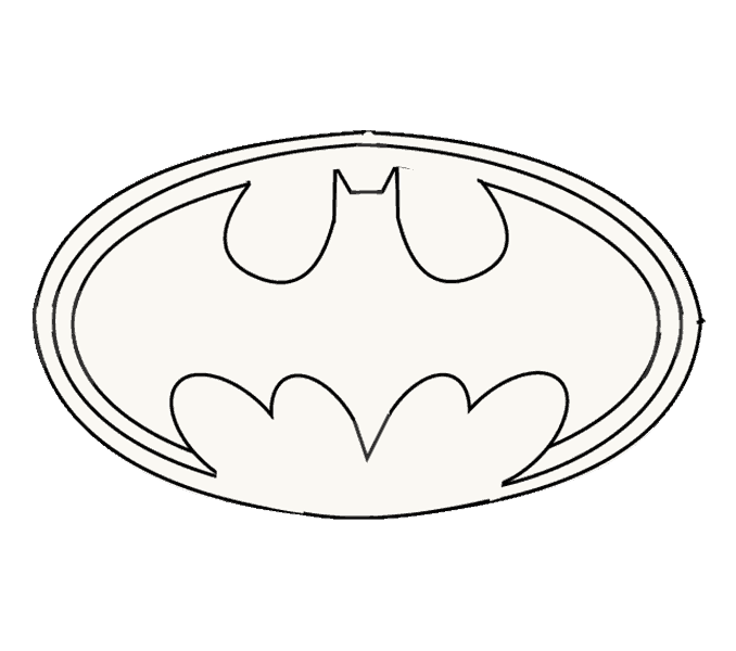 graphic download How to Draw Batman Logo