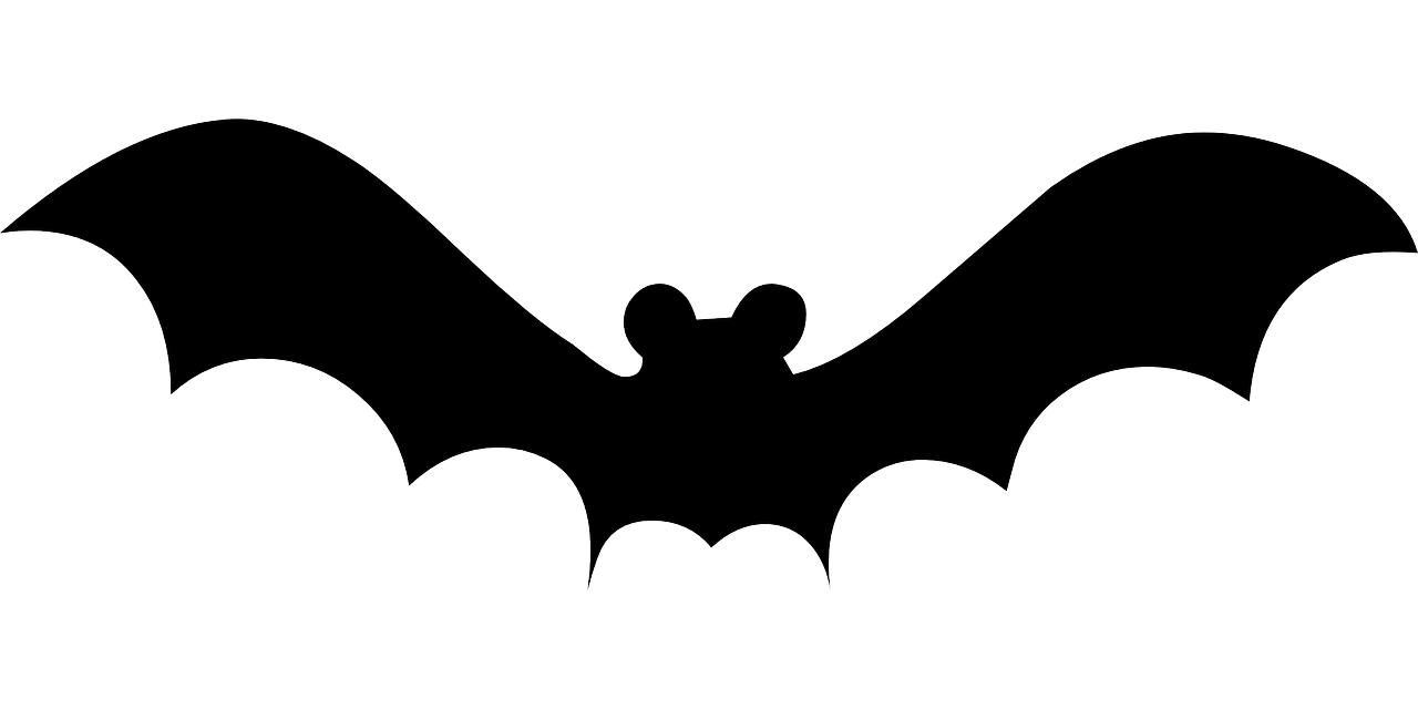 graphic free stock Flying Bat Template