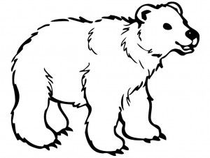 clip art royalty free download Use printable polar bear with Artic Lesson Plan under art