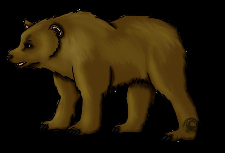 svg royalty free library Brown Bear Drawing at GetDrawings