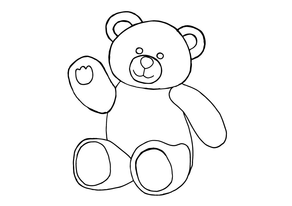 clip art free stock Hello from Teddy Bear