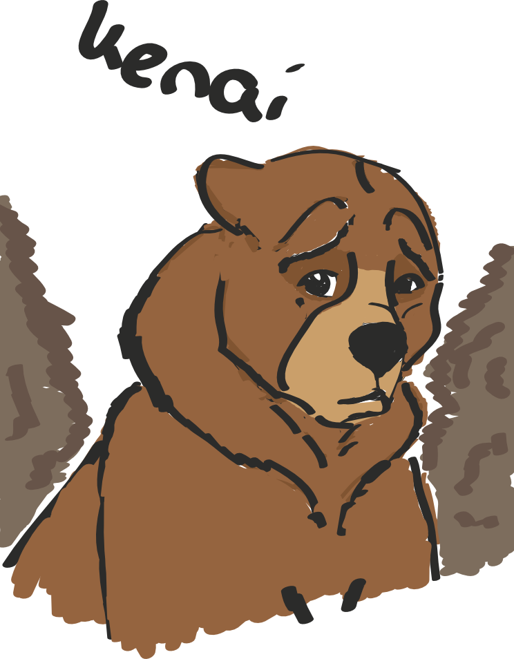 image library download brother bear kenai by karlijnlovesart on DeviantArt