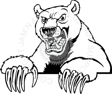 clip art free library Angry Bear Drawing at GetDrawings