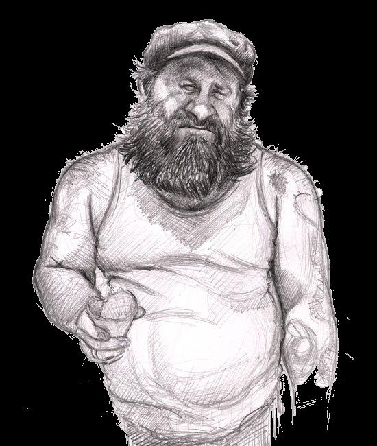 svg free download Beard Drawing Sketch