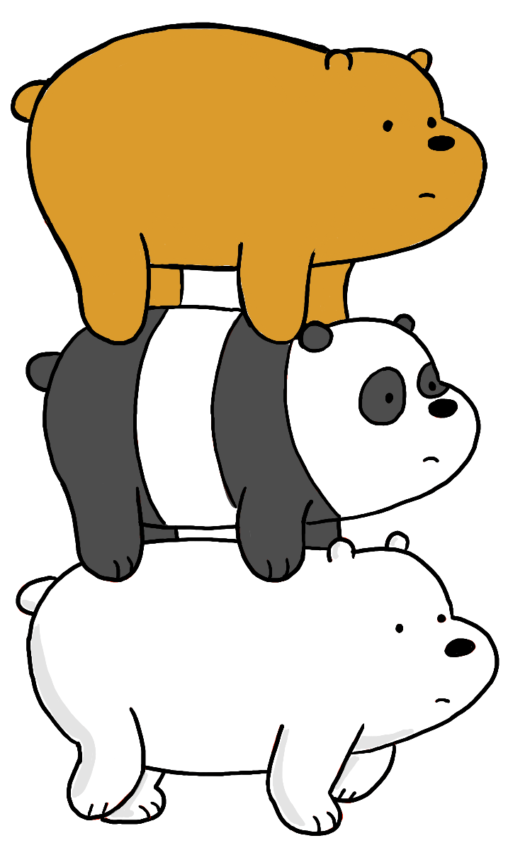 image free How to draw grizzly. Drawing bears panda