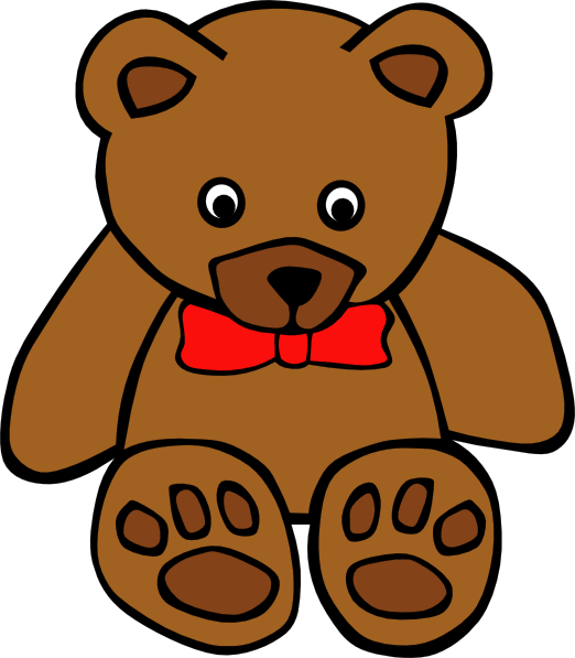picture library download Teddy Bear Clip Art Free
