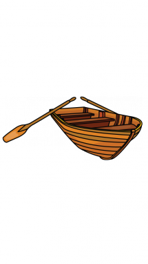 vector freeuse How to Draw a Wooden Boat