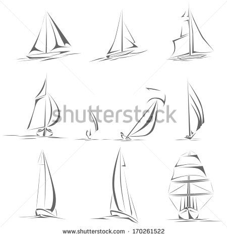 svg freeuse download Boats drawing basic. Small boat line google
