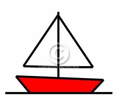 transparent Boats drawing basic. Simple boat elementary art