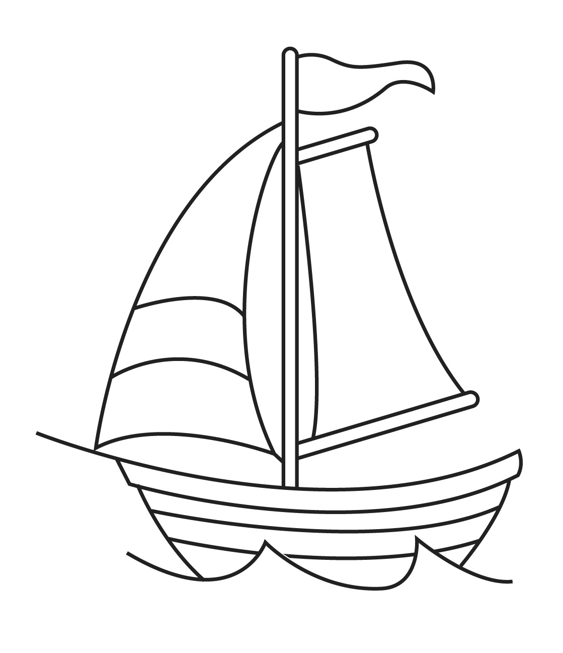 png free download Boat images at paintingvalley. Boats drawing basic