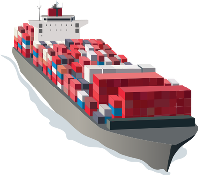 picture download Collection of free ship. Vector container cargo