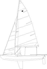 vector black and white library Snipe wikipedia boat. Boats drawing dinghy