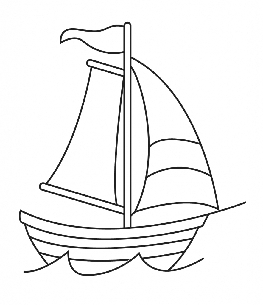 clip art freeuse stock Boats drawing ship. Boat easy at paintingvalley
