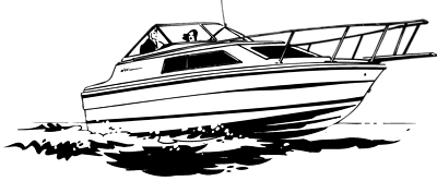 image freeuse stock Collection of free doat. Vector boat black and white