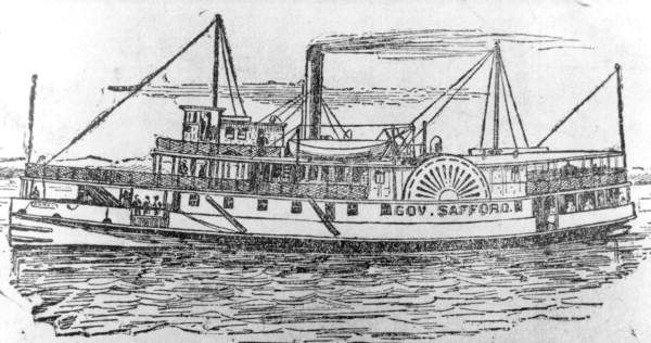 svg freeuse Drawing of steamboat