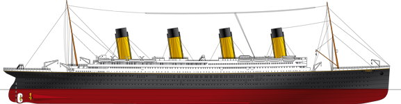 vector free stock Titanic Facts