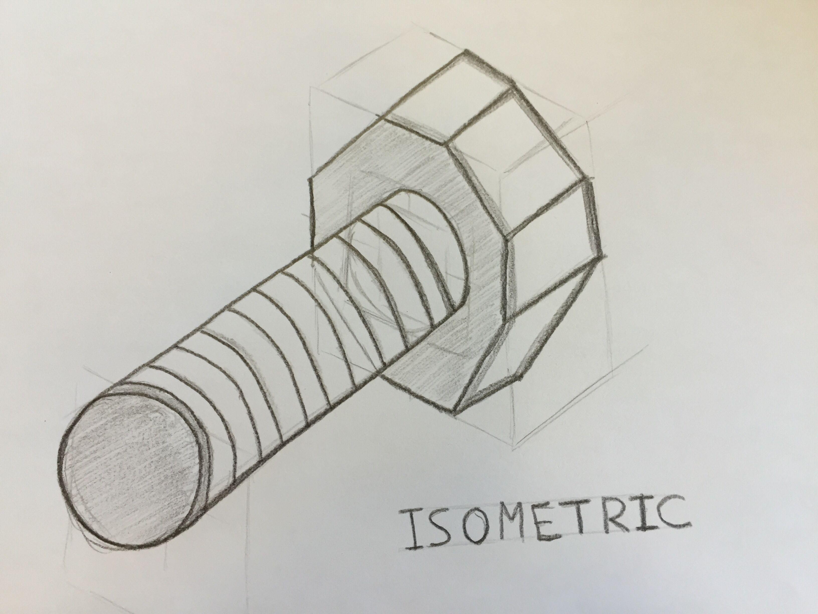 jpg transparent download Bolts drawing isometric. Pin by chris platt