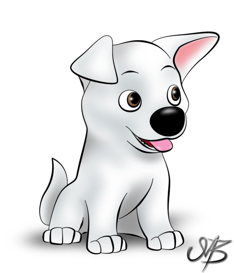 vector free library Bolts drawing puppy. Nice piece of bolt